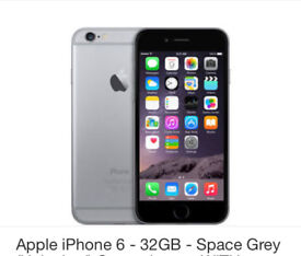 Iphone 6 32GB unlocked!!! With box and charger