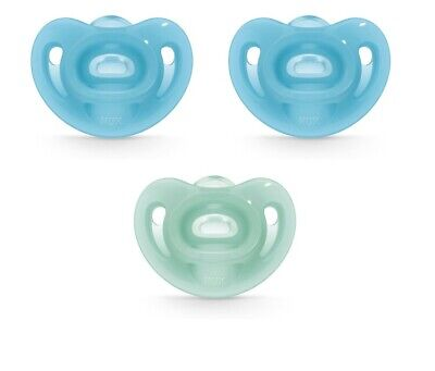 New NUK sensitive Pacifier Value Pack Of 3