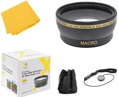 58mm Wide Angle Lens Attachment For panasonic Lumix DC-G95