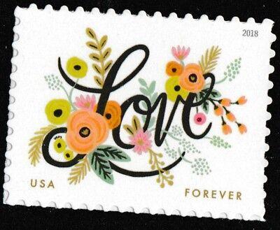 US 5255 Love Flourishes forever single MNH 2018