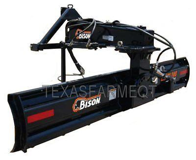 Bison 8 Nb80-240 Hd 3pt Rear Blade - Ships Free To Texas Surrounding States