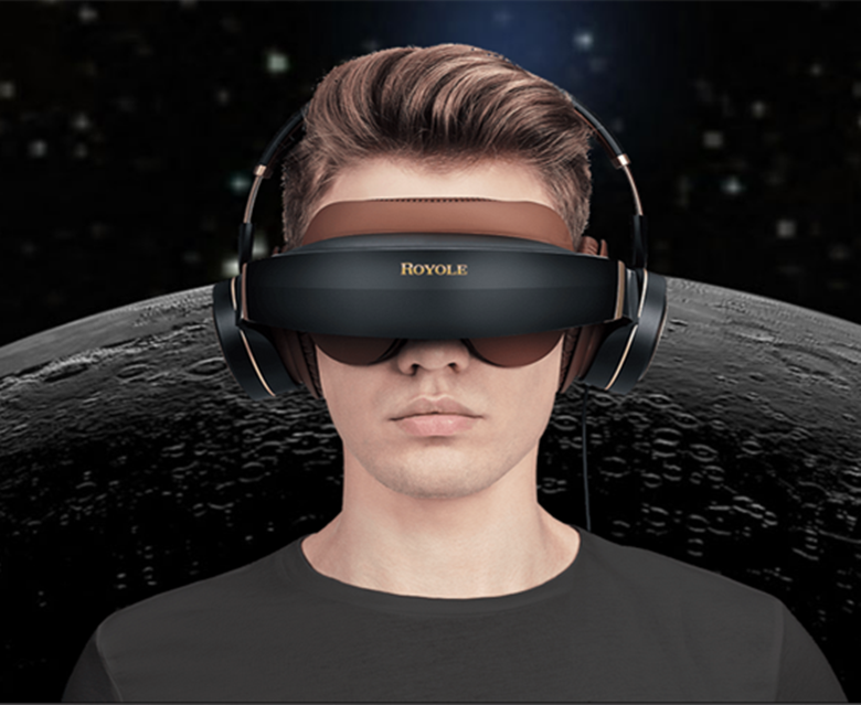 Royole Moon IMAX 3D Virtual Reality Mobile Glass 32G VR Theater 220V