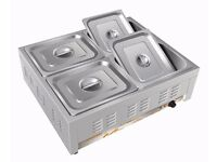Bain Marie With Pans CATERING EQUIPMENTS 4 POTS