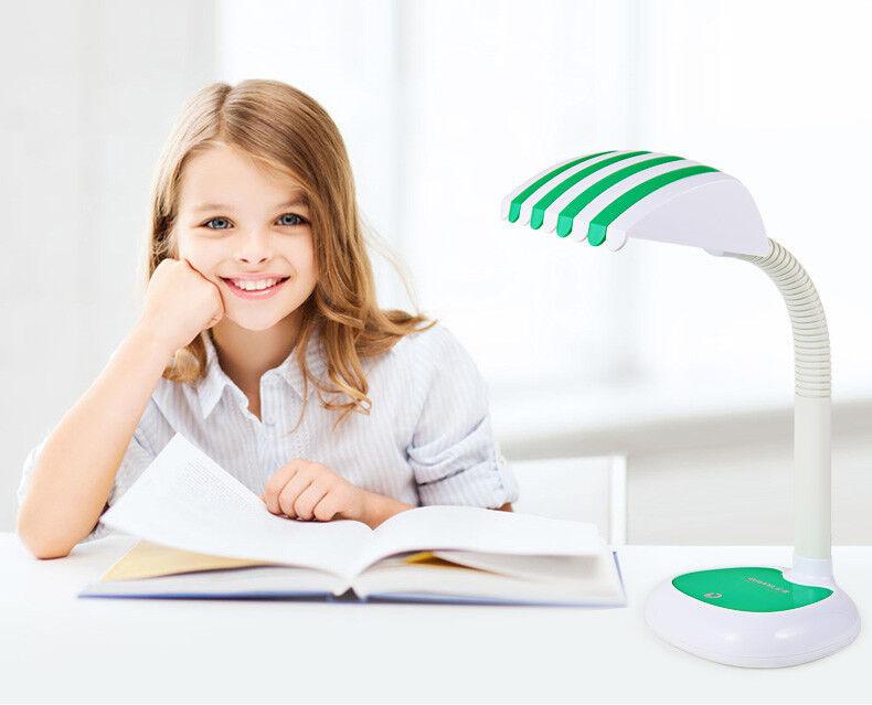Uniware  Green Patterned LED Desk Lamp for Children-Beautifu
