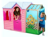 PLAYHOUSE - Brand New Garden Cottage Playhouse - Princess by Little Tikes over 33% off RRP