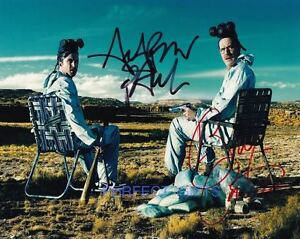 BREAKING-BAD-BRYAN-CRANSTON-AARON-PAUL-SIGNED-10X8-REPRO-PHOTO-PRINT