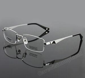 Designer Mens Rimless Eyeglasses Gallo
