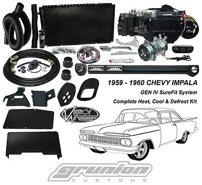Vintage Air 1959 1960 Chevy Impala Air Conditioning Heat Defrost Kit