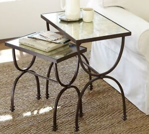 Pottery Barn Willow Nesting Tables, set of 2