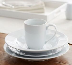 LOOKING FOR Pottery Barn Great White RIM Mugs + Other Dishes
