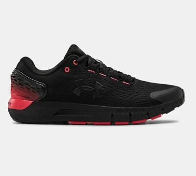 Under Armour Men's UA Charged Rogue 2 Running Shoes 3022592-002 Bk/Red 11.5 12.5