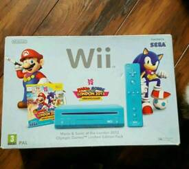Rare Mario and sonic limited Wii