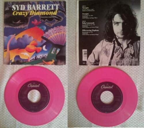 "Pink floyd - syd barrett - crazy diamond - 7""..."