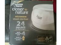Tommee Tippee Microwave Steam Steriliser (Closer to Nature)