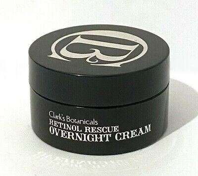 Clark's Botanicals Retinol Rescue Overnight NIGHT Cream Moisturiser Mini 8ml