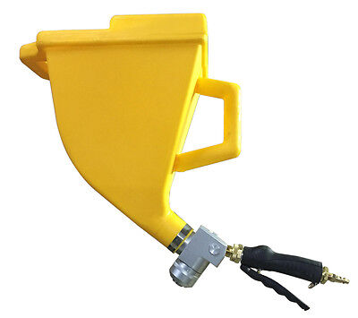 Texture sprayer, cement sprayer  for GFRC product spraying onto countertop molds