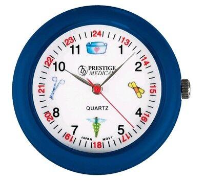 Medical Symbols Stethoscope Watch Blue Model 1689