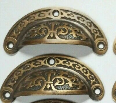 ANTIQUE BIN LATE 19TH CENTURY DRAWER PULL CLEVELAND SCHOOLFURNITURE CO.