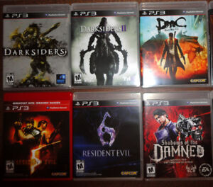 Ps3 GAMES LOOK LIKE NEW