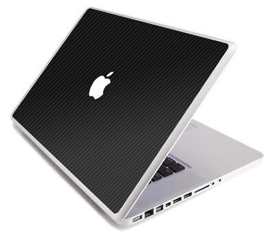 (3D CARBON FIBER Vinyl Lid Skin Cover Decal fit Apple MacBook Pro 13 A1278 Laptop)