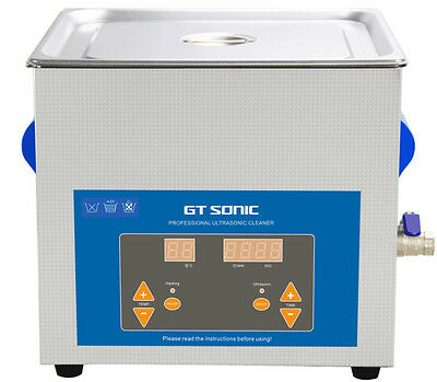 New Original Gt Sonic Dental Vgt-1990qtd 9l Professional Ultrasonic Cleaner 200w