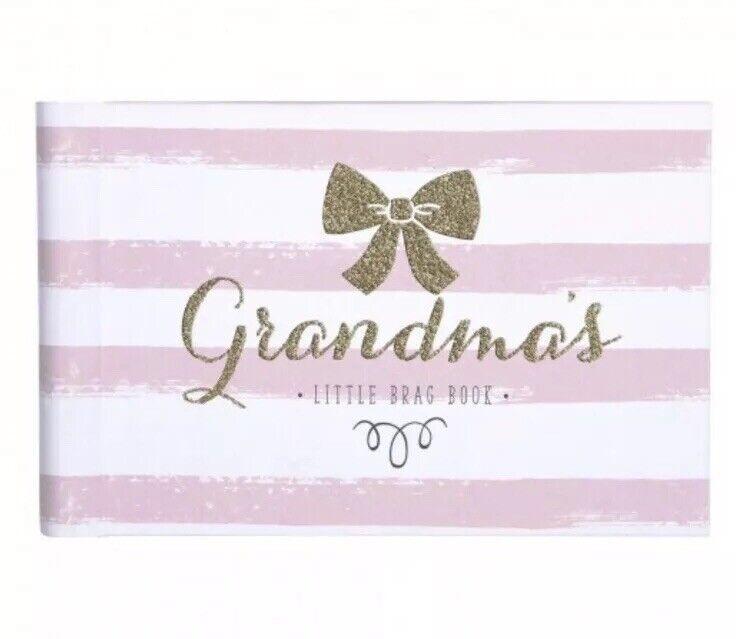 Grandmas Brag Book~ Sweet Sparkle~Baby Photo Album CR Gibson Baby Girl