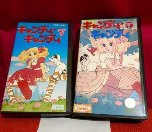 Candy Candy VHS Giapponesi