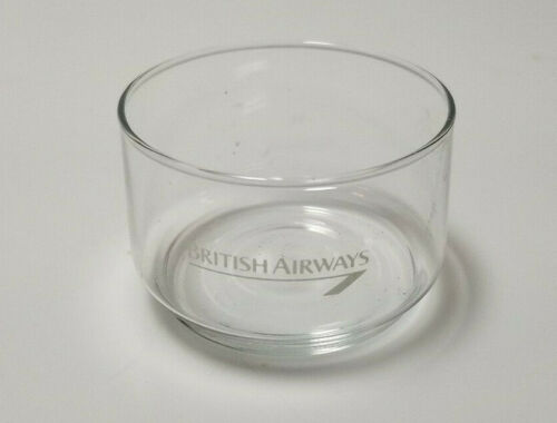 Vintage Airline Glass British Airways