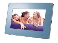 Digital Photo Frame with Changeable Bezels Luminox LXDPF4180 7 inch