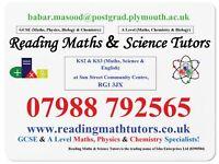 Reading Maths & Science Tutors - GCSE & A Level Maths, Science & 11+ Classes