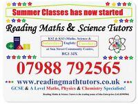 Reading Maths & Science Tutors - 07988792565