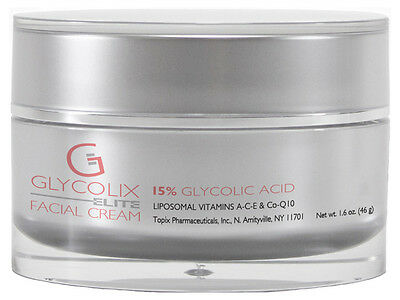 Glycolix Elite 15  Glycolic Acid Facial Cream 1 6 Oz