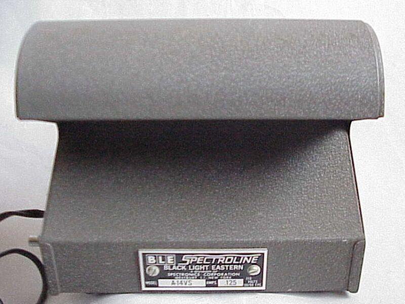 BLE Spectroline Counterfeit / Fake Check Detector UV Black Light A-14VS
