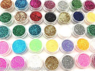 Glitter Pots - Cosmetic Eye Shadow Lip Glitter eyes Face Body Glitter Lips