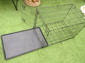 Pets Dogs Folding crate / cage medium size perfect condition, used only a couple of times
