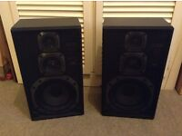 JVC Speakers 80W, excellent condition throughout, Model SP-E300