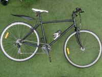 Stunning Hybrid Bike, New Racing Saddle + 85 Extras & Accessories Serviced and in Perfect Condition