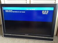 "SONY BRAVIA Flat screen TV, 32"" inches, SRS TruSurround XT Sound, DIGITAL, DVB, HDMI, HD Flatscreen"
