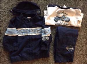 30 PIECES - Harley Davidson & BRAND NEW Outfit, Pants, Etc