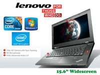 "Deliver if needed - Lenovo Edge Laptop - 15.6"" - Intel i3 2.4GHz - 500Gb - 4Gb - HDMI - Webcam"