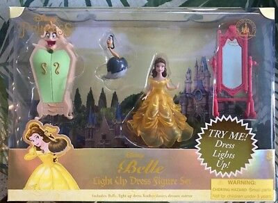 Belle Light  Dress Up Polly Pocket Beauty Beast DISNEY Theme Parks set - Harry Potter Themed Dress