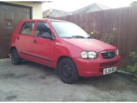Suzuki Alto 1.1 2004 Cheap runabout, ideal 1st car £30 Tax for the year 55mpg