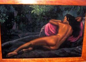 Hawaii-painting-vintage-Ralph-Burke-Tyree-QUALITY