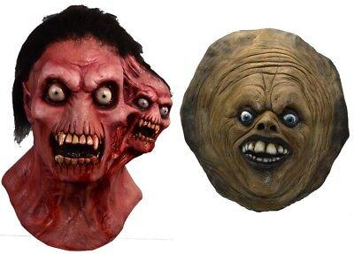 Full Moon Features - Shrieker & The Ginger Dead Man Latex Deluxe Masks NEW - Full Moon Halloween Masks