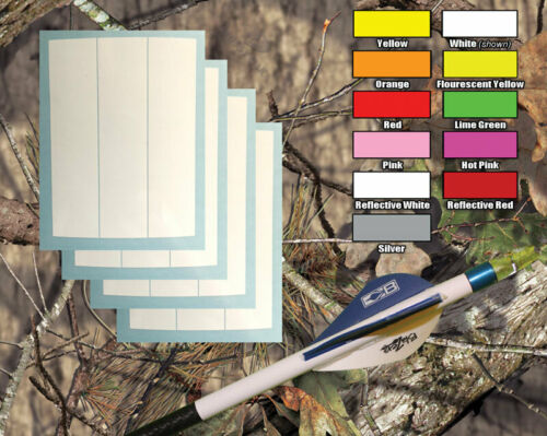1 Dozen Arrow Wraps - Vinyl, choose size and color
