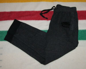 ROOTS JOGGER SWEATPANTS BLACK SPECKLE SIZE ADULT SMALL