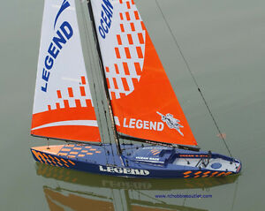 New RC Sailboats  -- Monsoon and Legend Models, 2.4G Controller