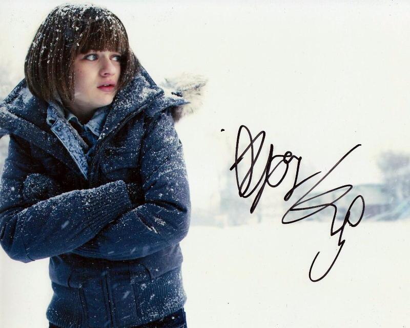 JOEY KING.. Fargo's Greta Grimly - SIGNED