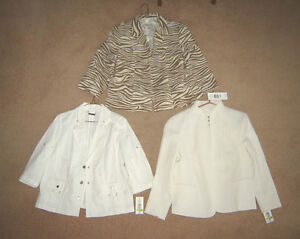Tanjay Jackets - sz 12P (for over a top or dress) - ALL NEW