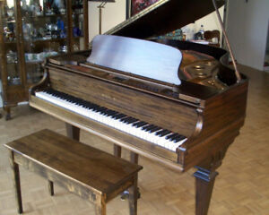 For sale a WM KNABE & Co. mid-size grand piano